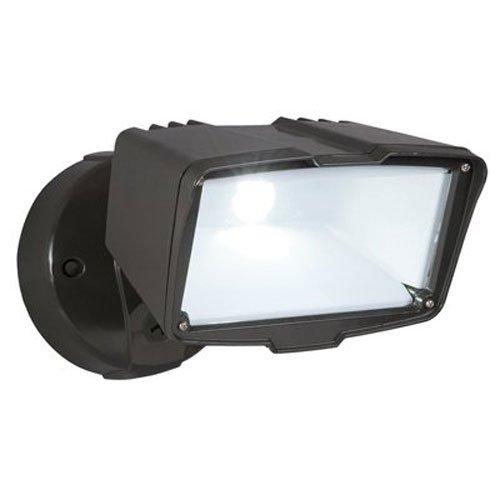Cooper Lighting FSL2030L Large Single Head Flood Light, Bronze Housing, 1 Lamps, 120 VAC, 60 Hz, LED, 30 W Lamp