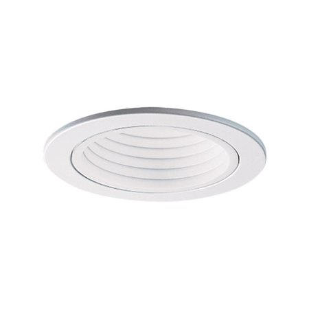 Cooper Lighting Halco APERT Light Trim With 4 in White Baffle, R16, PAR16 Incandescent
