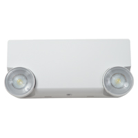 Cooper Lighting Sure Lites APE Emergency Light, 120/277 VAC, 0.06 A at 120 VAC, 0.07 at 277 VAC, LED