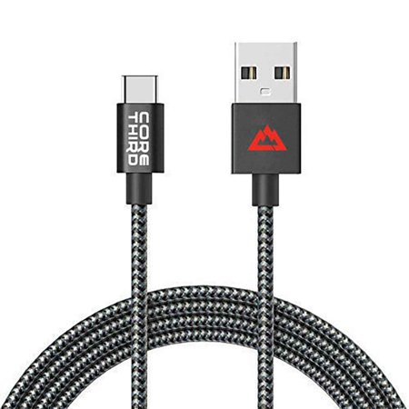 Core Third USB-C Cable, 3.3ft