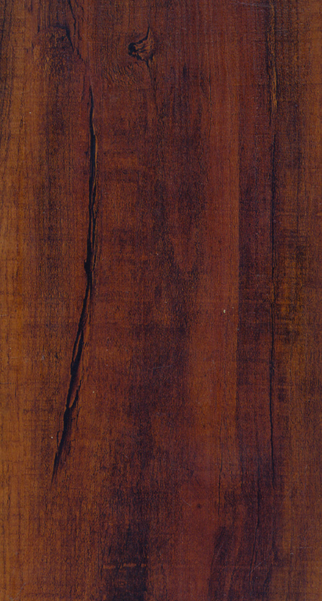 Courey International 21231306 Waterproof Plank Flooring, 48 in L x 5.6 in W x 7.2 mm T, 20.37 sq-ft, Lapacho