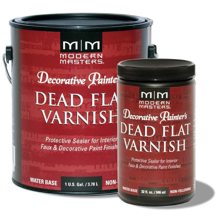 32 Ounce Dead Flat Varnish