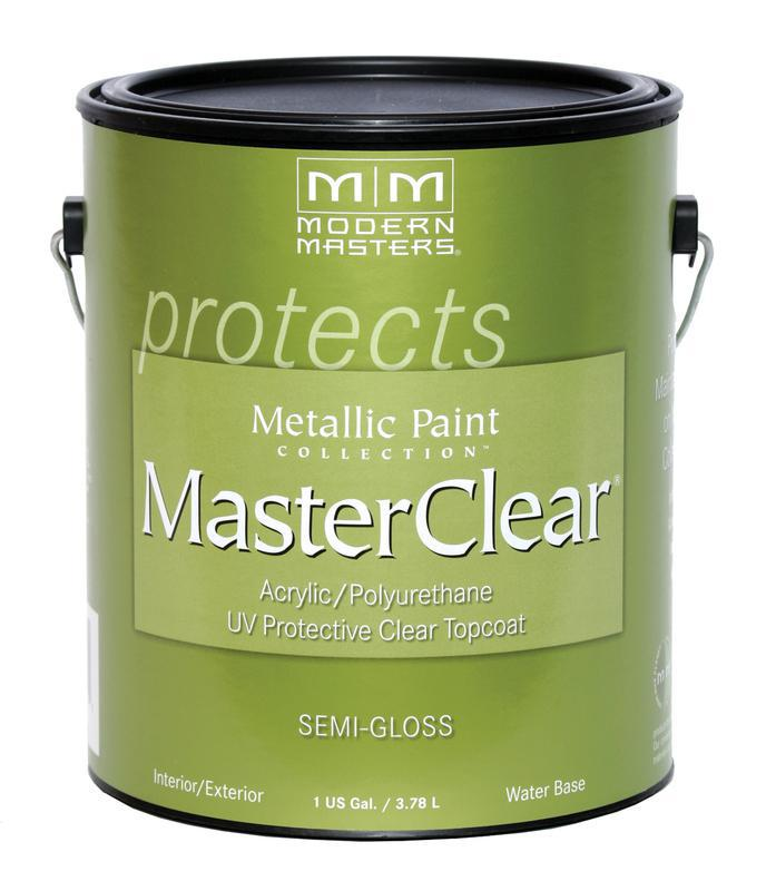 Me662-Gal Master Clear Protective Clear Topcoat, Semi-Gloss, 1-Gallon