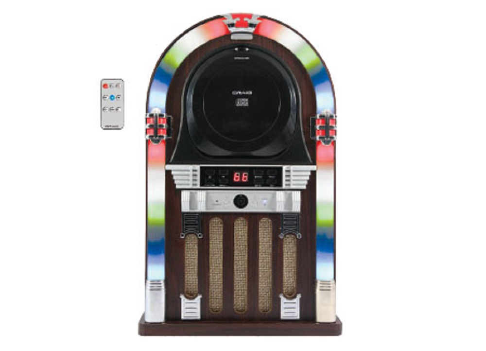 CRAIG CHT955 CD JUKEBOX SPEAKER SYSTEM WITH BLUETOOTH AND