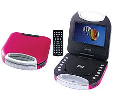 CRAIG CTFT750ZB ZEBRA 7INCH SCREEN PORTABLE DVD CD PLAYER
