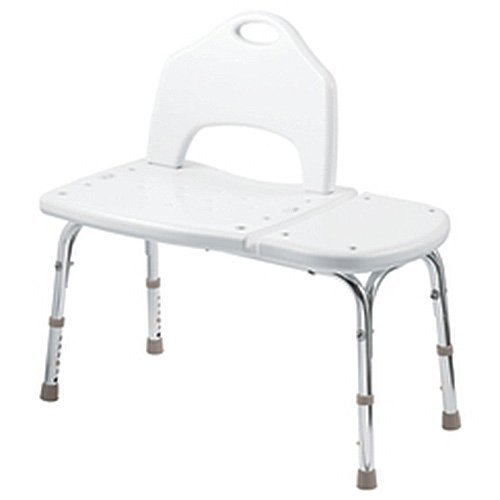 MOEN TOOL FREE TRANSFER BENCH, WHITE