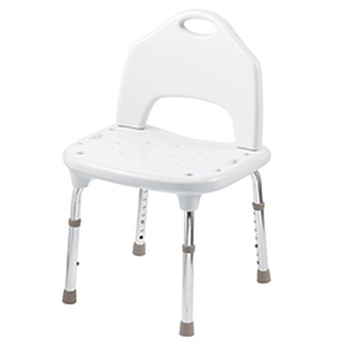 MOEN TOOL FREE SHOWER CHAIR, WHITE