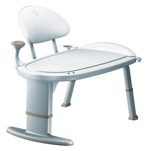 MOEN TRANSFER BENCH, WHITE