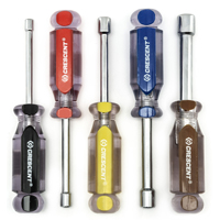 Crescent CND5SAE Hollow Shaft Nutdriver Set, 5 Pieces