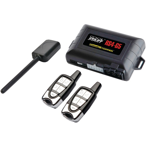 CRIMESTOPPER RS4-G5 Cool Start 1-Way 5-Button Remote-Start & Keyless-Entry System with Trunk Pop