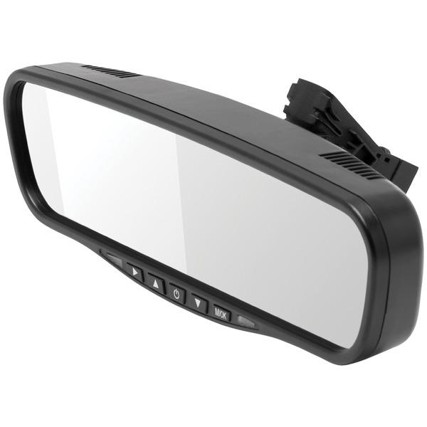 "CrimeStopper MIR-045 MIR-045 4.5"" Universal Rearview Mirror"
