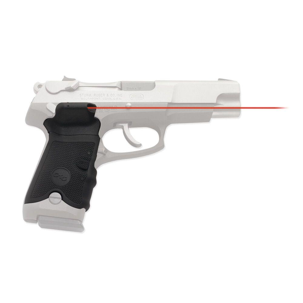 Crimson Trace Lasergrips for Ruger P-Series Pistols Red Laser