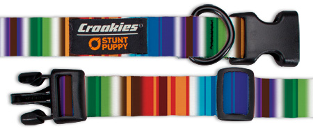 Croakies Dog Collar, Medium, Contour Glow