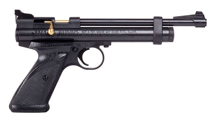 Crosman 2240 (Black)CO2 Powered Bolt-Action Single Shot Air Pistol