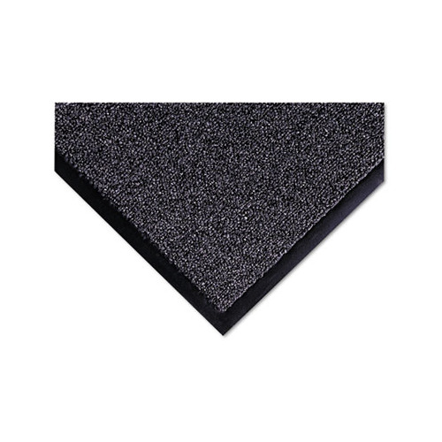 Cross-Over Indoor/Outdoor Wiper/Scraper Mat, Olefin/Poly, 36 x 60, Gray