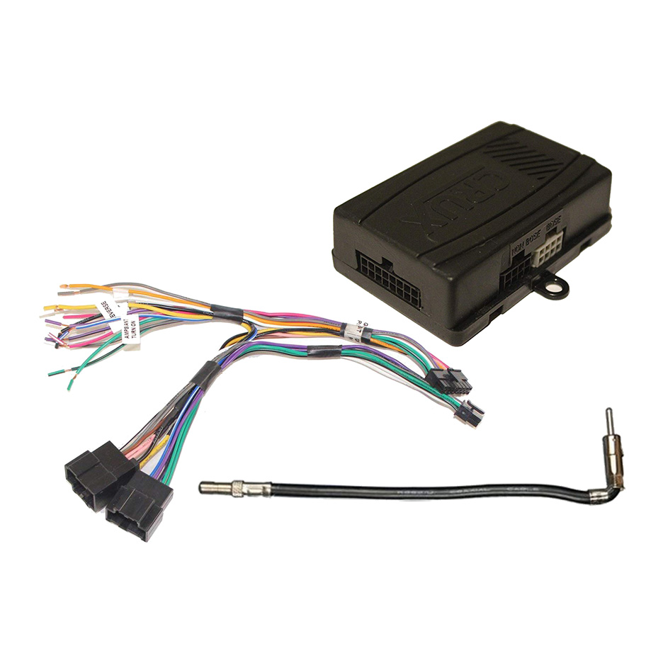 Crux Radio Replacement Interface for General Motors LAN v2 (LIN) 29 Bit Vehicles