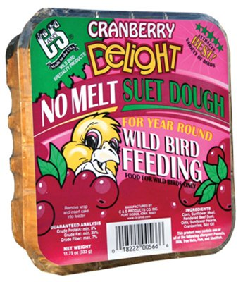 Cranberry Delight No Melt Suet Dough +Frt