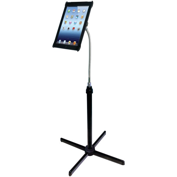 CTA Digital PAD-AFS Height-Adjustable Gooseneck Floor Stand for iPad Gen 2-4