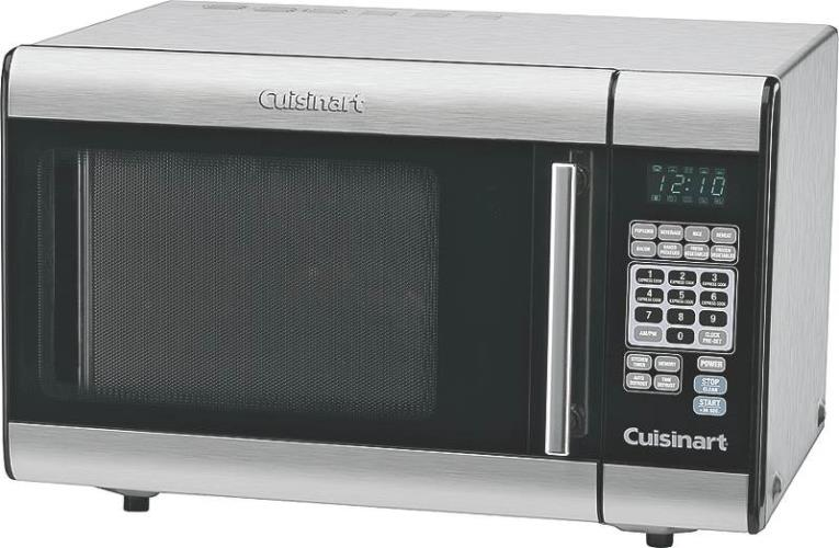 1 Cu. Ft. 1000-Watts Stainless Steel Microwave Oven