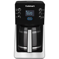 Cuisinart Perfec Temp Classic Programmable Coffee Maker, 120 V, 112 oz, Stainless Steel