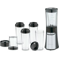 Cuisinart CPB-300 Compact Portable Blending/Chopping System, 350 W, Stainless Steel