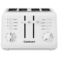 Cuisinart CPT-142 Compact Electric Toaster, 4 Slice, 850 W, 120 V