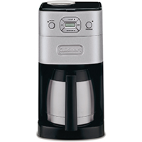 Grind & Brew Thermal™ 10 Cup Automatic Coffeemaker, Black Stainless