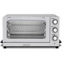 Cuisinart TOB60N Conventional Convection Toaster Oven, 1500 W, 500 deg F