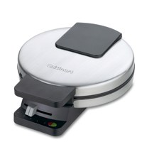 Cuisinart® Round Classic Waffle Maker, Brushed Stainless Steel