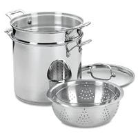 Cuisinart Chef's Classic 77-412 Pasta/Steamer Set, 4 Pieces
