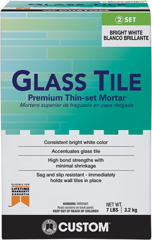 GTMW7-4 7# GLASS TILE MORTAR