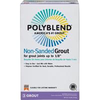 Polyblend PBG1010 Non?Sanded Tile Grout?, 10 lb, Box, NO 10 Antique White, Solid Powder