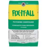 Fix-It-All DPFXL25 Multi-Purpose Patching Compound, 25 lb, Bag, Off-White, Powder