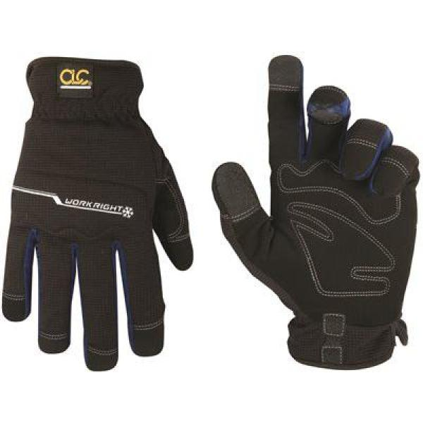 L123L LARGE BLACK WORKRIGHT GLOVE