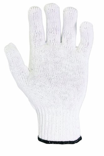 2000 1SZE WH STRING KNIT GLOVE