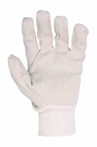 2002 1SZE WH CTN CANVAS GLOVE