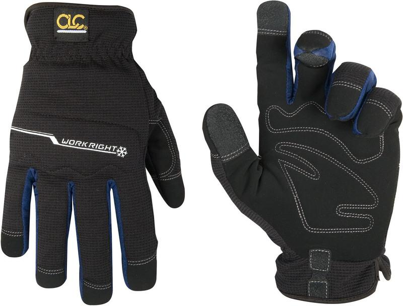 L123X XL BLK WORKRIGHT GLOVE
