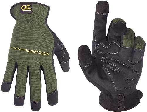 Flex Grip WorkRight OC 123L High Dexterity Work Gloves, Large