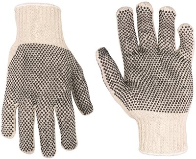 CLC 2005 Reversible Traditional Work Gloves, One Size, 65% Cotton/35% Polyester