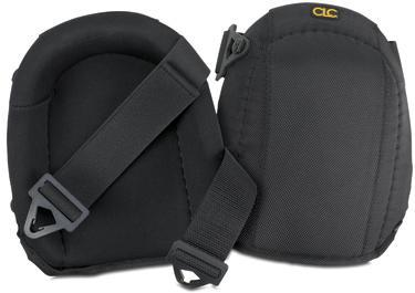CLC 342 Heavy Duty Flooring Knee Pad, One Size Fits All, Foam Pad/Polyester Fabric, Black