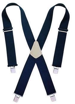 CLC Tool Works 110BLK Heavy Duty Work Suspender, 2 in W, Nylon, Black