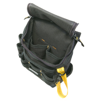 CLC Ziptop Medium Utility Tool Pouch, Black