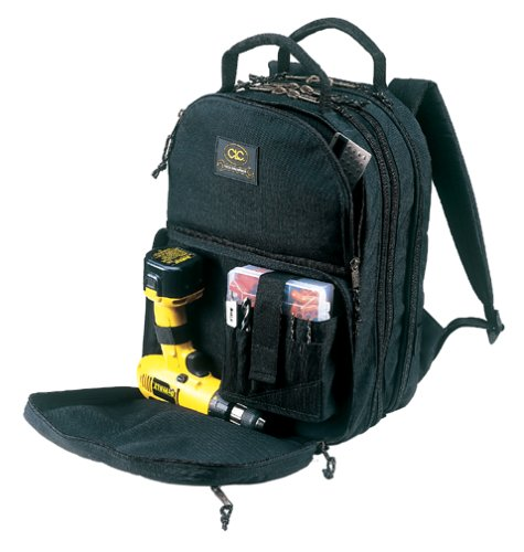 CLC Tool Works 1132 Heavy Duty Tool Backpack 17-1/2 in L X 13 in W X 9 in D, Cordura Fabric