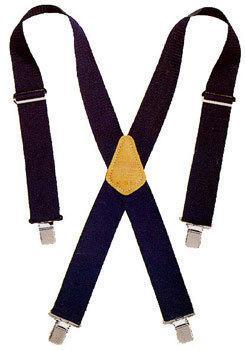 CLC Tool Works 110BLU Heavy Duty Work Suspender, 2 in W, Nylon, Blue