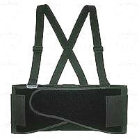 CLC 5000M Heavy Duty Back Support Belt, Medium, 32 - 38 in Waist, Black