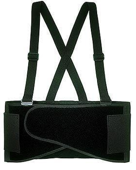 CLC 5000X Heavy Duty Back Support Belt, X-Large, 46 - 56 in Waist, Black