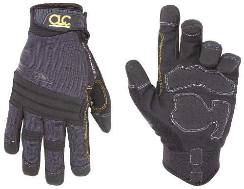 GLOVE SYN LEATHER TRADESMAN L