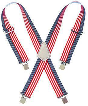 CLC Tool Works 110USA Elastic Heavy Duty Work Suspender, 2 in W, Nylon