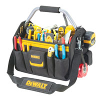 DeWalt DG5587 Open Top Tool Carrier, 14 in L, Ballistic Poly Fabric