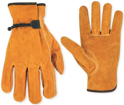 CLC� ECONOMY SPLIT COWHIDE DRIVER WORK GLOVES, X-LARGE